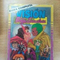 Tebeos: VISION Y LA BRUJA ESCARLATA COLECCIÓN COMPLETA (14 NUMEROS EN UN RETAPADO). Lote 177085179