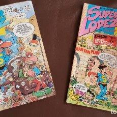Tebeos: 2 SUPER LOPEZ, NºS. 10 Y 55 - VER FOTOS. Lote 177185639