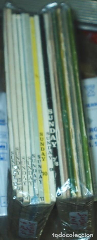 Tebeos: SUNDAY -MARIANO AYUSO 1976 - COMPLETA, 17 números en 15 cuadernos ORIGINAL IMPORTANTE LEER TODO - Foto 2 - 177258418