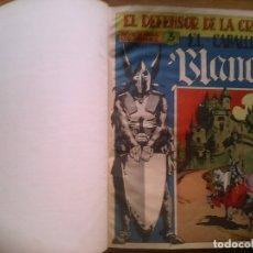 Tebeos: EL CABALLERO BLANCO. MAGA. COMPLETA. 30 EJEMPLARES. . Lote 177259554