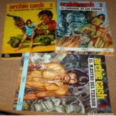 Tebeos: ARCHIE CASH, COMPLETA, RASGOS 1983 - 3 EJEMPLARES EN BUEN ESTADO LEER. Lote 177261190