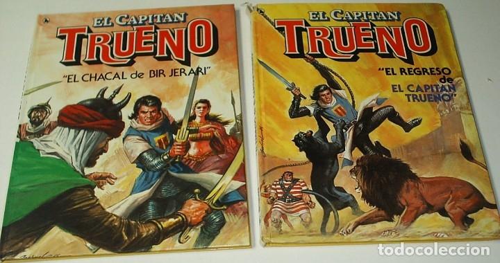 EL CAPITAN TRUENO - COMPLETA CON LOS DOS TOMOS TAPA DURA DE BRUGUERA 1986 - LEER ENVIOS (Tebeos y Comics - Tebeos Colecciones y Lotes Avanzados)