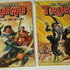 Tebeos: EL CAPITAN TRUENO - COMPLETA CON LOS DOS TOMOS TAPA DURA DE BRUGUERA 1986 - LEER GASTOS. Lote 276948938