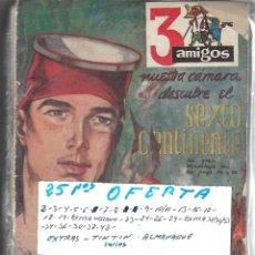 Livros de Banda Desenhada: TRES AMIGOS LOTE DE 25 NUMEROS ORIGINALES- VER FOTOS LEER DESCRIPCIÓN. Lote 177274735