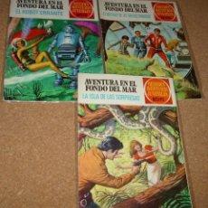 Tebeos: AVENTURA EN EL FONDO DEL MAR COMPLETA - BRUGUERA 1973 ORIGINAL - LEER DESCRIPCIÓN. Lote 177384793