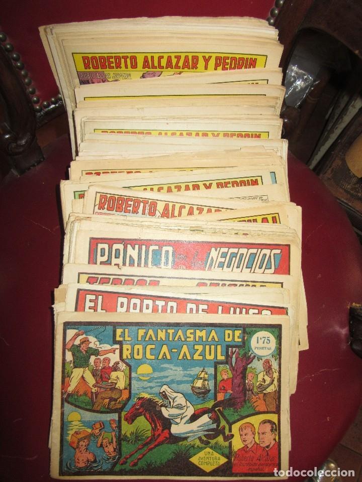 118 NÚMEROS DE ROBERTO ALCÁZAR Y PEDRÍN (Tebeos y Comics - Tebeos Pequeños Lotes de Conjunto)