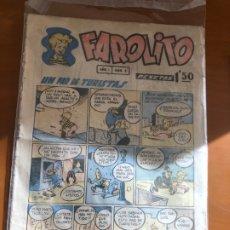 Tebeos: FAROLITO Nº 2 BUEN ESTADO. Lote 177597150