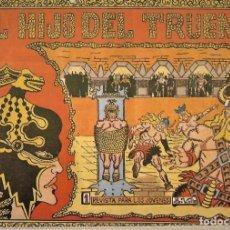 Tebeos: EL HIJO DEL TRUENO- COLECCIÓN A FALTA DEL Nº 19 EN MUY BUEN ESTADO,ORIGINALES 1964. LEER DESCRIPCIÓN. Lote 177611220