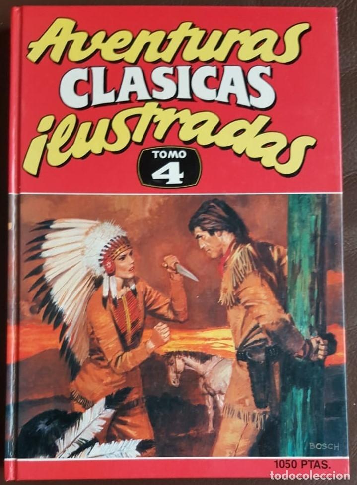 AVENTURAS CLÁSICAS ILUSTRADAS, TOMO 4 - VER FOTOS (Tebeos y Comics - Tebeos Colecciones y Lotes Avanzados)