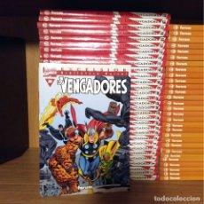 Tebeos: BIBLIOTECA MARVEL. LOS VENGADORES. 32 NUMEROS. COMPLETO.. Lote 177685402