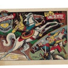 Tebeos: LUIS VALIENTE AÑO 1957 COLECCIÓN COMPLETA SON 24 TEBEOS ORIGINALES MUY NUEVOS Y SON DIFICILES. Lote 177735327