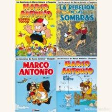 Tebeos: LAS AVENTURAS DE MARCO ANTONIO Y CLEOPATRA. 4 ALBUMS 1 2 3 4 . COMPLETA. GLENAT. Lote 177752220