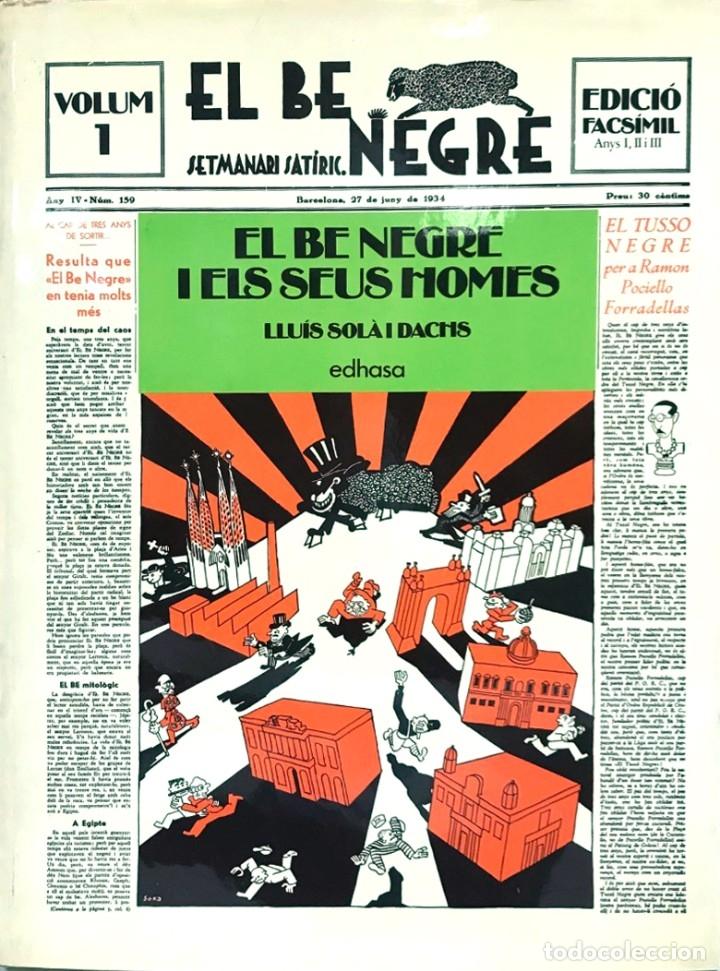 EL BE NEGRE. VOLUMEN 1. EDICION FACSIMIL (Tebeos y Comics - Tebeos Colecciones y Lotes Avanzados)