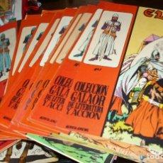 Tebeos: EL CID COMPLETA, 24 TEBEOS EN MUY BUEN ESTADO, GALAOR 1966 ORGINALES- LEER DESCRIP. Lote 177790120
