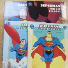 Tebeos: SUPERMAN FOR ALL SEASONS COLECCIÓN COMPLETA (4 TOMOS). Lote 177811617
