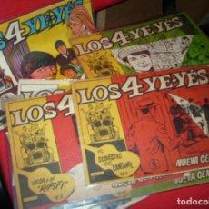 Tebeos: LOS 4 YE YES COMPLETA!!!, ÚNICA CON LOS 10 TEBEOS ORIGINALES 4 YEYES MUY RARA- LEER DESCRIP. Lote 177881885