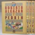 Lote 178052403: COLECCION COMPLETA ROBERTO ALCAZAR Y PEDRIN - 6 TOMOS - 1ª SERIE - EDICIONES BRUCH / CARBONELL