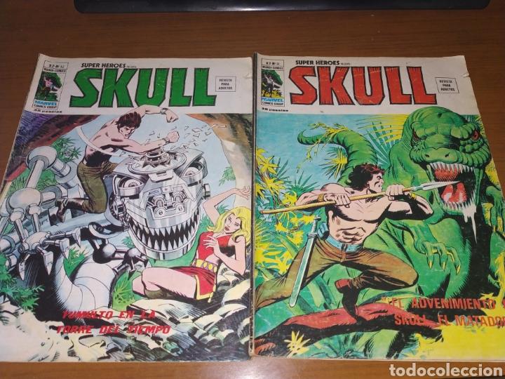 LOTE SKULL, VÉRTICE, MUNDI CÓMICS, MARVEL CÓMICS GROUP (Tebeos y Comics - Tebeos Pequeños Lotes de Conjunto)