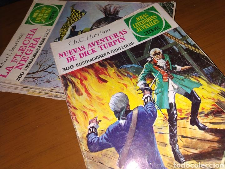 PRECIADO LOTE DE JOYAS LITERARIAS JUVENILES (Tebeos y Comics - Tebeos Colecciones y Lotes Avanzados)