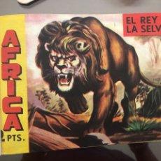 Livros de Banda Desenhada: ÁFRICA - LOTE DE CÓMICS COMPUESTO POR LOS 37 PRIMEROS NÚMEROS. Lote 178562566