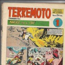 Tebeos: TERREMOTO, APACHE, AÑO 1964 LOTE DE 11 TEBEOS SON ORIGINALES ESTAN DEL Nº 1 AL Nº 11. Lote 178565132