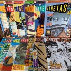 Tebeos: REVISTA DE COMIC VIÑETAS - 13 NÚMEROS - GLENAT. Lote 178580268
