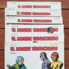 Tebeos: EL HOMBRE ENMASCARADO. EDICIONES B.O. COMPLETA EN 6 TOMOS. Lote 178627560