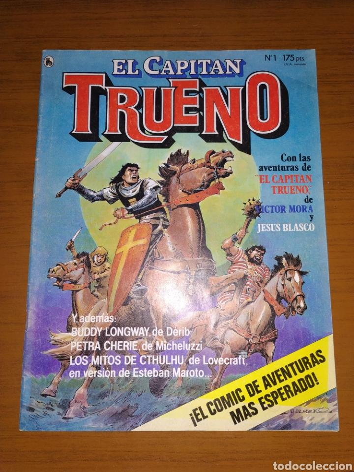 Tebeos: LOTE DEL CAPITÁN TRUENO NÚMEROS 1, 2 Y 3 - Foto 4 - 178632040
