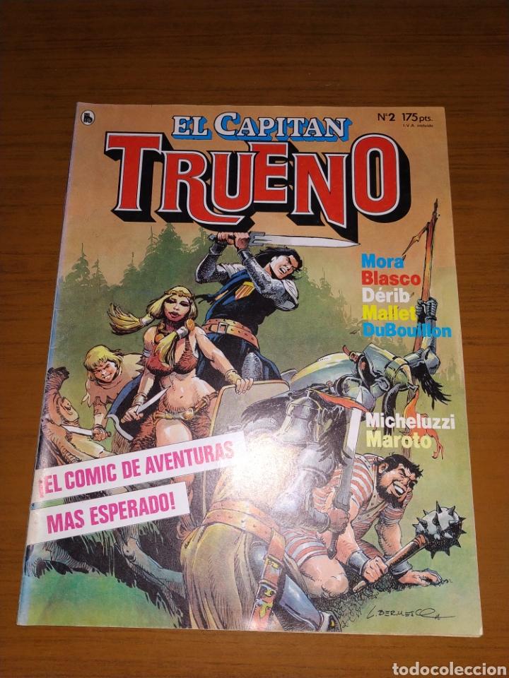 Tebeos: LOTE DEL CAPITÁN TRUENO NÚMEROS 1, 2 Y 3 - Foto 6 - 178632040