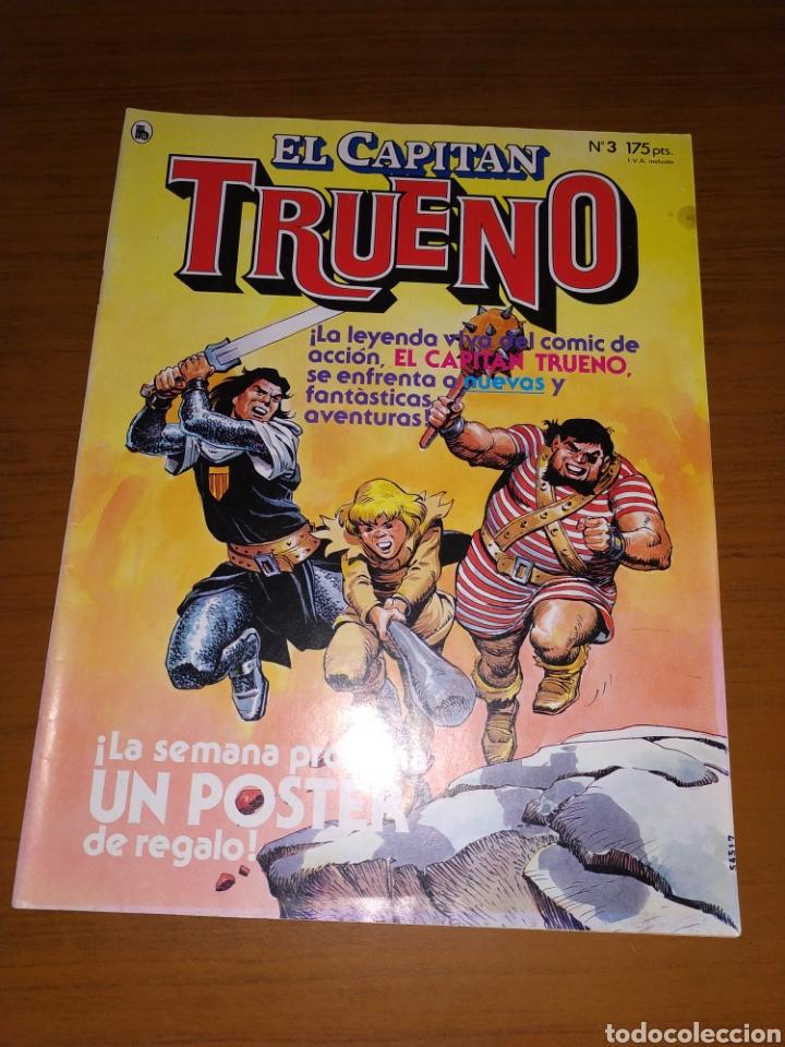 Tebeos: LOTE DEL CAPITÁN TRUENO NÚMEROS 1, 2 Y 3 - Foto 8 - 178632040