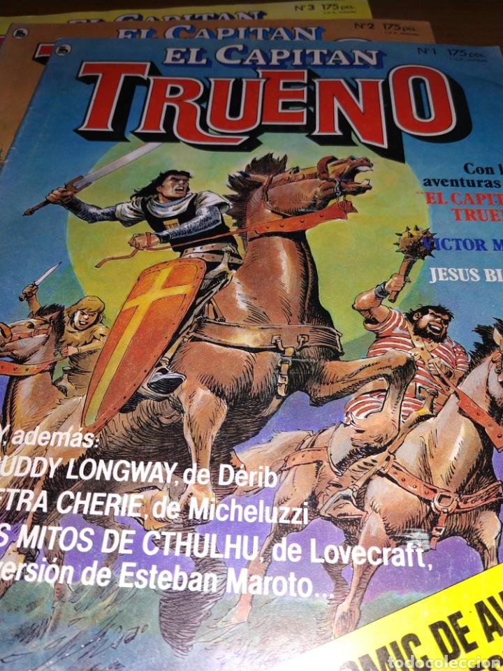 LOTE DEL CAPITÁN TRUENO NÚMEROS 1, 2 Y 3 (Tebeos y Comics - Tebeos Pequeños Lotes de Conjunto)