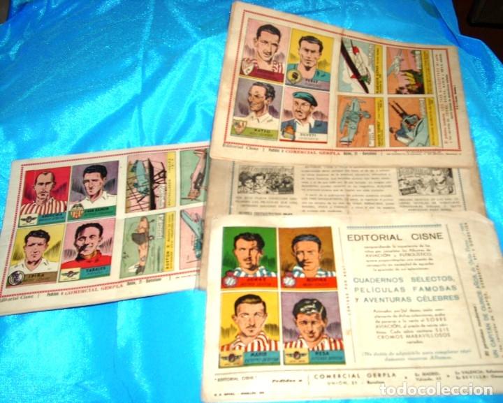 Tebeos: LOS TRES MOSQUETEROS EN 4 PARTES COMPLETA H.A. 1943 - ORIGINALES- IMPORTANTE LEER -REBAJADA - Foto 2 - 178816713