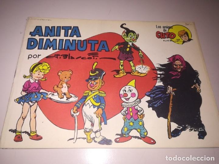 ANITA DIMINUTA: LA MALDAD DE CARRASPIA (GRAFIMART, 1975) DE JESÚS BLASCO REF. UR EST (Tebeos y Comics - Tebeos Pequeños Lotes de Conjunto)