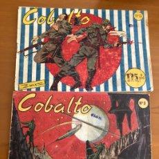 Livros de Banda Desenhada: COBALTO Nº 9 Y 10 BUEN ESTADO. Lote 178830937