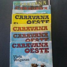 Tebeos: LOTE-7-CARAVANA OESTE-VILMAR. Lote 179161848