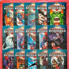 Tebeos: LOTE 17 COMICS ULTIMATE SPIDERMAN EDICION MARVEL COMICS PANINI 2003.. Lote 179521681