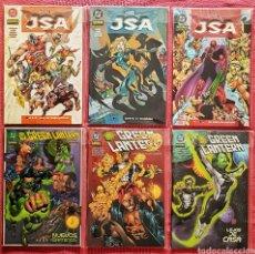 Tebeos: LOTE 6 COMICS DC JSA Y GREEN LANTER. NORMA EDITORIAL.. Lote 179529108