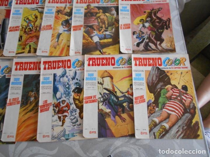 TEBEOS CAPITAN TRUENO COLOR GRAN LOTE (Tebeos y Comics - Tebeos Pequeños Lotes de Conjunto)