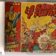 Tebeos: EL CAPITÁN TRUENO ORIGINAL. ¡¡COMPLETA!!. ENCUADERNADA EN 18 TOMOS. (RF.MA) B/40. Lote 180024771
