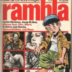 Tebeos: RAMBLA. ¡¡COLECCIÓN COMPLETA!!. 35 NROS. ENCUADERNADOS EN 6 TOMOS. GARCÍA & BEA, EDITOR (RF.MA)B13. Lote 180028116