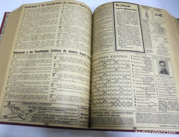Tebeos: COLECCION DE 69 NUMEROS DE TEBEO CHICOS. DIFERENTES. ENCUADERNADOS. 1943 -1944. VER. LEER - Foto 3 - 180074821