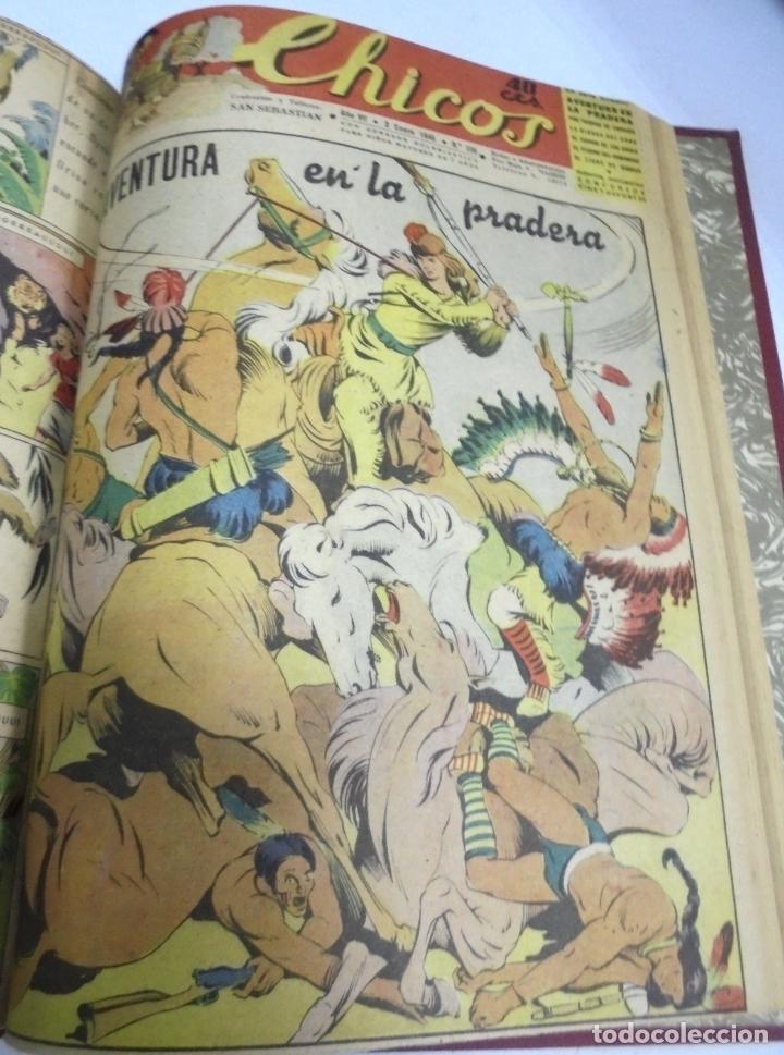Tebeos: COLECCION DE 69 NUMEROS DE TEBEO CHICOS. DIFERENTES. ENCUADERNADOS. 1943 -1944. VER. LEER - Foto 11 - 180074821