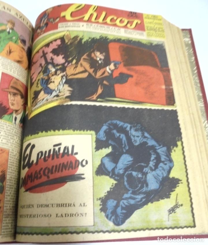 Tebeos: COLECCION DE 69 NUMEROS DE TEBEO CHICOS. DIFERENTES. ENCUADERNADOS. 1943 -1944. VER. LEER - Foto 30 - 180074821