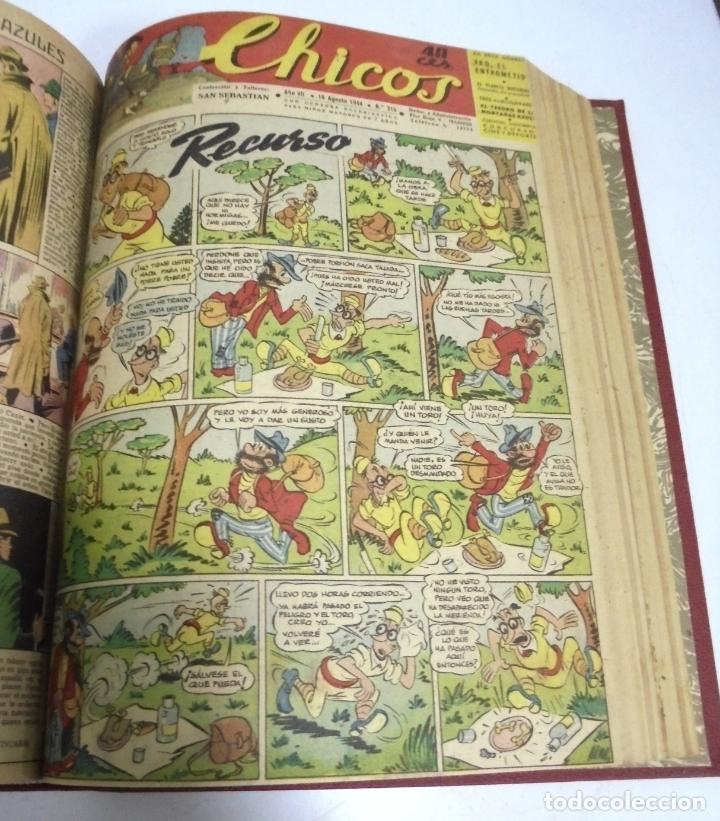 Tebeos: COLECCION DE 69 NUMEROS DE TEBEO CHICOS. DIFERENTES. ENCUADERNADOS. 1943 -1944. VER. LEER - Foto 32 - 180074821