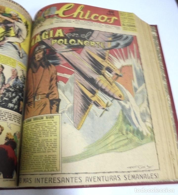 Tebeos: COLECCION DE 69 NUMEROS DE TEBEO CHICOS. DIFERENTES. ENCUADERNADOS. 1943 -1944. VER. LEER - Foto 35 - 180074821