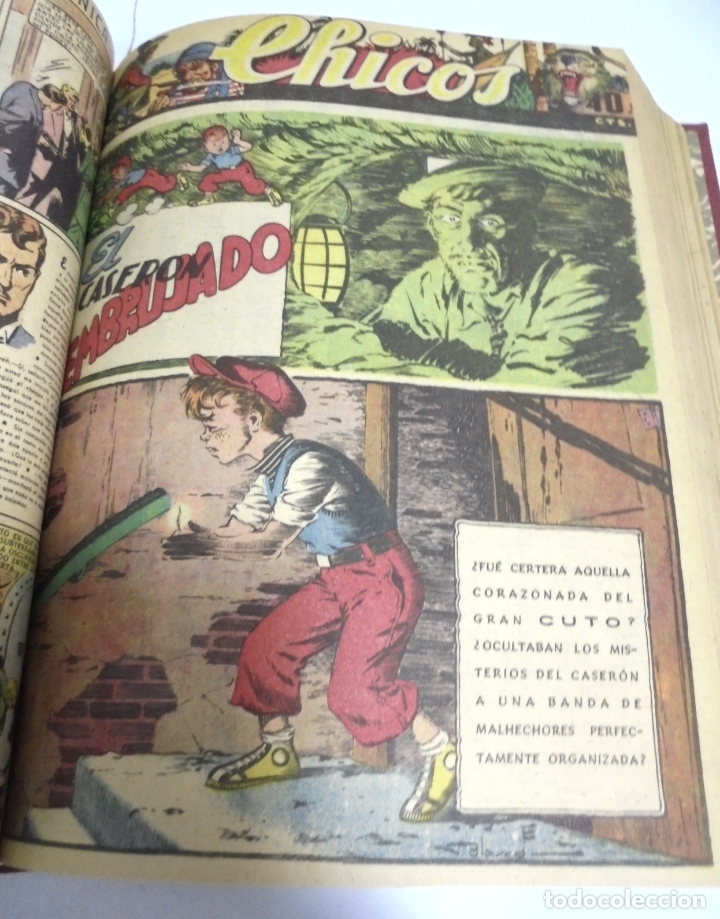 Tebeos: COLECCION DE 69 NUMEROS DE TEBEO CHICOS. DIFERENTES. ENCUADERNADOS. 1943 -1944. VER. LEER - Foto 56 - 180074821