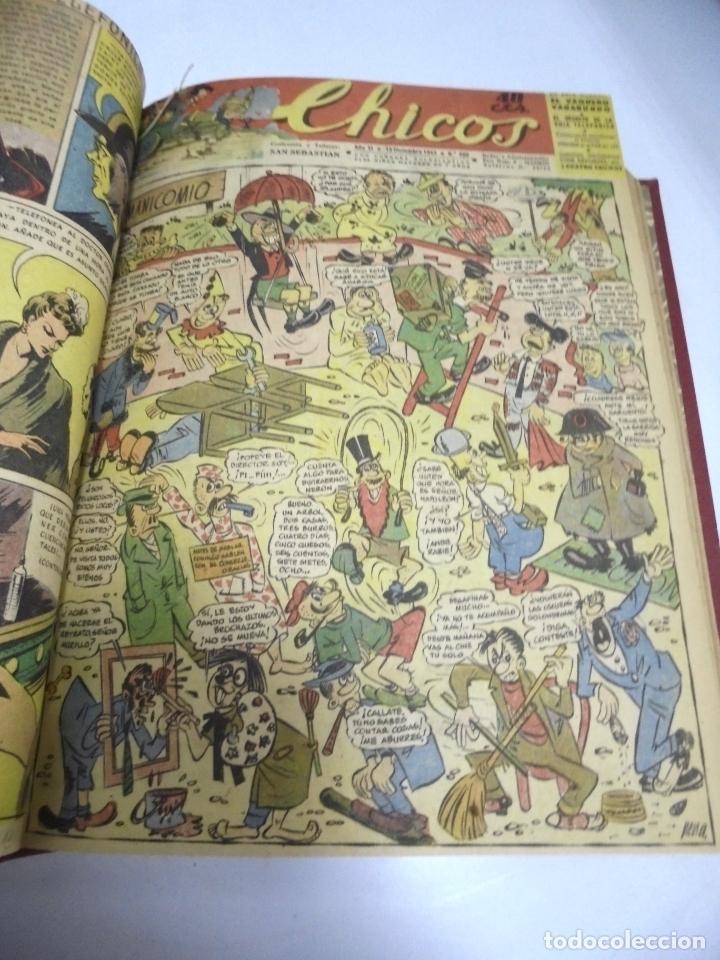 Tebeos: COLECCION DE 69 NUMEROS DE TEBEO CHICOS. DIFERENTES. ENCUADERNADOS. 1943 -1944. VER. LEER - Foto 66 - 180074821