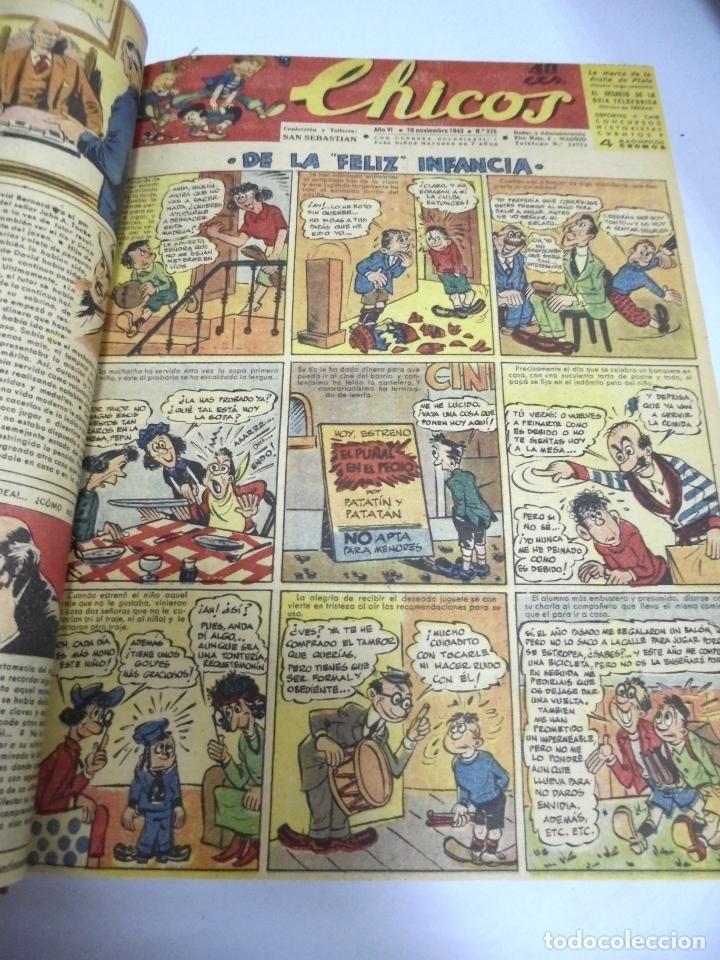 Tebeos: COLECCION DE 69 NUMEROS DE TEBEO CHICOS. DIFERENTES. ENCUADERNADOS. 1943 -1944. VER. LEER - Foto 71 - 180074821