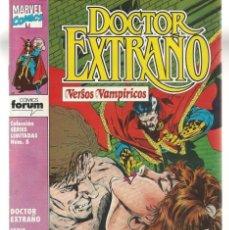 Tebeos: DOCTOR EXTRAÑO.VERSOS VAMPÍRICOS. 5 NROS. ¡¡COMPLETA!!. VER FOTOS ADICIONAL. FORUM. (RF.MA) C/3. Lote 180107351