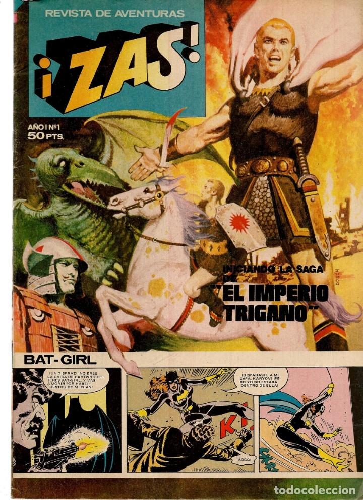 ¡ZAS!. 8 NROS. ¡¡COLECCIÓN COMPLETA!!. BRUGUERA. (RF.MA)C/3 (Tebeos y Comics - Tebeos Colecciones y Lotes Avanzados)